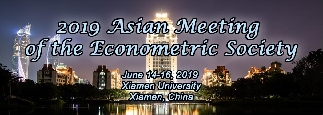 2019 Asian Meeting of the Econometric Society